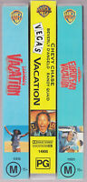 Lampoons Vacation lot Vegas, European VHS Video Tape Vintage