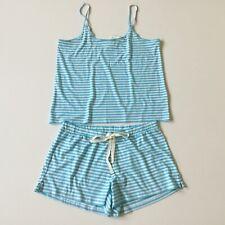 J.Crew Factory Women's NWT Striped Jersey Tank And Shorts Pajama Set Size: M