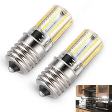 2x E17 LED Bulb Microwave Oven Light Dimmable Natural White 6000K Light Quality