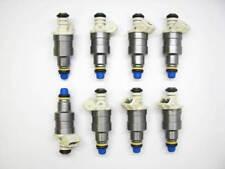 Set of 8 FACTORY Reman OEM Injectors 1986-1991 Ford 5.0L, E59E-A2B.