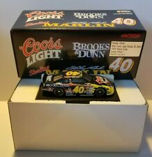 1999 Sterling Marlin #40 Coors Light, Brooks & Dunn 1/64 Scale Die Cast