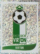549 LOGO ECUSSON BADGE BELGIQUE EXCELSIOR VIRTON STICKER FOOTBALL 2009 PANINI