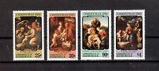 Dominica Michelnummer 800 - 803 postfrisch (Kunst 637 )