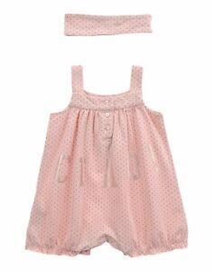 Vestitino Pagliaccetto Bambina con Fascia TWIN-SET Simona Barbieri H276 Tg 3mesi