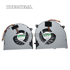 New ASUS G75 G75V G75VW G75VW-DS71 G75VW-TH7 G75VX CPU + GPU Laptop Cooling Fan
