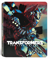Transformers: The Last Knight Limited Edition Steelbook 3D + 2D Blu Ray