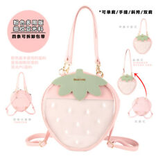 Pink White ITA Bag Transparent Bow Backpack Harajuku Purse Traveler Lolita Bag