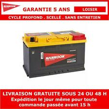 12V 95Ah Batterie AGM de Loisirs à Double Usage Pour Caravane et Camping Car