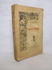 Savi Lopez - Leggende e paesaggi - Giannotta 1914 Folklore Germania Castelli