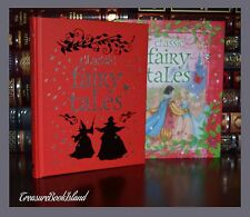 Classic Fairy Tales Peter Pan Beauty Grimm Illustrated New Hardcover Slipcase