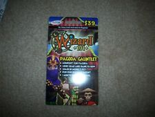 Wizard 101 Game Card CROWNS new PAGODA GAUNTLET BUNDLE Shaolin Monkey Pet +