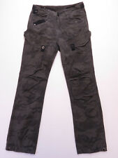 G-Star BLAN GREY COTTON Cargo Pocket Combat Camo pants trouser SIZE 28 EUC