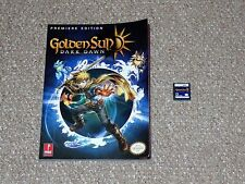 Golden Sun: Dark Dawn Nintendo DS Cartridge with Prima Strategy Guide