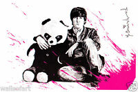Mr Brainwash John Lennon All You Need Is Love Postcard Beatles banksy Pop Art