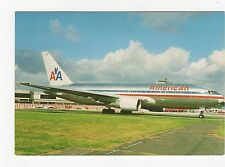 American Airlines Boeing 767-223 ER Aviation Postcard, A658