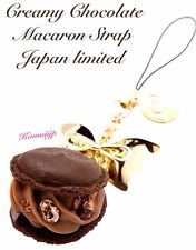 New Japan Limited Edition Q-pot Chocolate Macaroon Cell Phone Strap Charm (RARE)