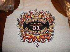 Hells Angels Oakland support 81 Tank top shirt Small