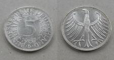 5 Mark 1967 D Silber German Coin Silver Tolle Erhaltung [378]