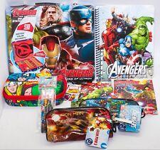 New Disney's Marvel's Avengers Deluxe Stationery Superhero Combo Pack Gift Set