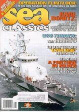 SEA CLASSICS V33 N1 USS TUNNY REGULUS MISSILE SUB /  USN SEAL CYCLONE CLASS