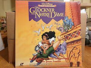 Laserdisc Der Glöckner von Notre Dame Pal deutsch