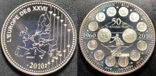 Médailles françaises Monnaie de Paris en nickel