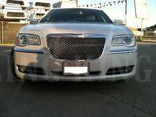 Chrysler 300 Chrome Mesh Grill Bentley Grille 2011 2012 2013 2014