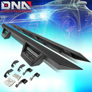 FOR 2015-2020 CHEVY COLORADO/GMC CANYON EXT CAB ROCK RAIL NERF BAR SIDE STEP