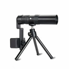 4K 10-300X40mm Super Telephoto Zoom Monocular Telescope HD Portable With Tripod