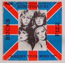 Bucks Fizz 45 Tours Eurovision 1981