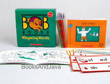 BOB BOOKS Rhyming Words (pb) Box Set Perfect for beginning readers NEW