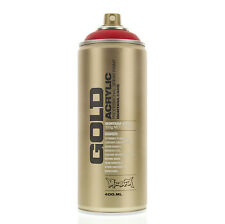 Montana Gold Acrylic Spray Paint Shock Red S3000 - Urban Art - 1 Can