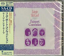 FAIRPORT CONVENTION-LIEGE & LIEF-JAPAN SHM-SACD G88