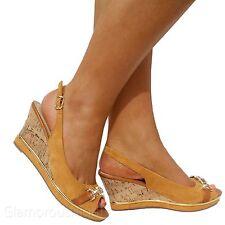 Unbranded Slingbacks Textile Sandals & Beach Shoes for Women