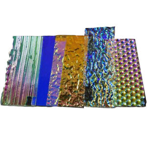 Austin/CBS 1/4# Dichroic Jewelry-Scrap Thin Clear 90 Austin/CBS