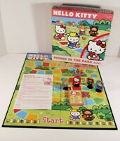 Hello Kitty Picnic In The Park Pressman Board Card Game 2011 Complete