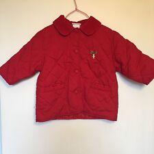 Manteau Rouge Petite Fille 2 Ans