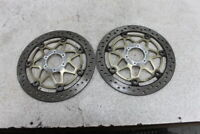 99 00 01 02 03 HONDA CBR1100XX CBR 1100 XX FRONT LEFT RIGHT BRAKE ROTORS DISCS