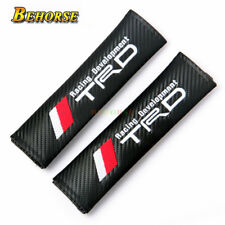 1Pair TRD Racing Development Car Safety Seat Belt Cover For Toyota Car Styling