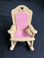 LOVING FAMILY ROCKING CHAIR DOLLHOUSE NURSERY FURNITURE FISHER PRICE