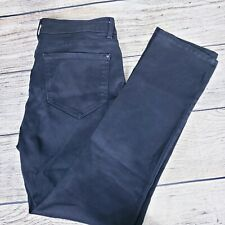 NYDJ Not Your Daughters Jeans Pants Straight Legging Lift Tuck Women's Black 12