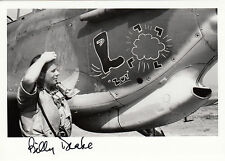 RAF Battle of Britain ace DRAKE DSO DFC* signed photo 5x7 Western Desert