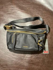 Tumi Madison Hip Bag In Black $225