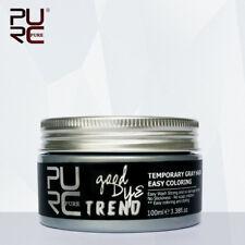 Temporary Hair Coloring Wax Mud Dye Cream Color Purple Blue Red White mofajang +