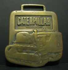 Caterpillar CAT Crawler Tractor Pocket Watch Fob MACALLISTER MACHINERY IN Indy