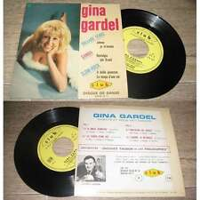 GINA GARDEL - Johnny Je M'Ennuie Rare French EP Sixties Pop Label Club