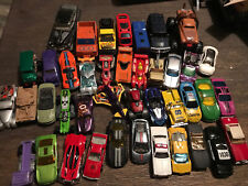 Lot 40+ Cars / Vehicles Hot Wheels, Matchbox, And Other Misc Cars