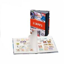 Stamp Stockbook Leuchtturm 361248 Stamp Collection Album with White Pages