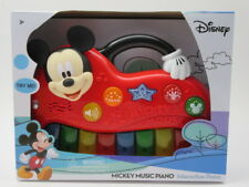 Disney Mickey Mouse Interactive Electronic Learning Piano Lights Sounds Shapes