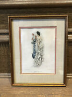 1904 Antique Howard Chandler Christy Victorian ''American Beauties'' Art Picture